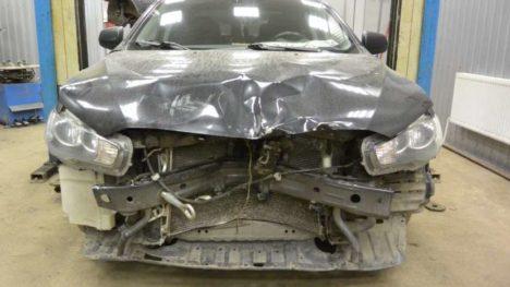 Кузовной ремонт и окраска Mitsubishi Lancer X