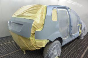 Кузовной ремонт и окраска Ford Fiesta