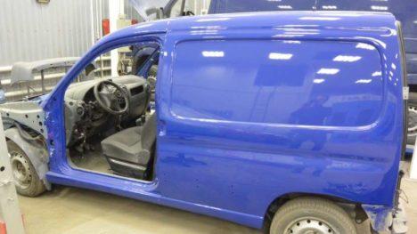 Полная окраска кузова автомобиля Citroen Berlingo