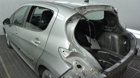 Кузовной ремонт и покраска Peugeot 308