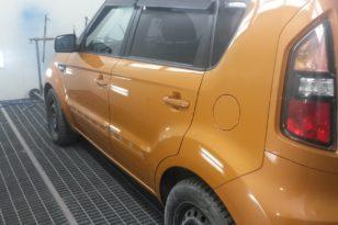 Кузовной ремонт и окраска KIA Soul
