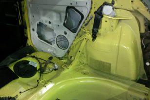 Кузовной ремонт и окраска Skoda Fabia