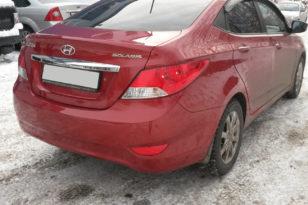 Ремонт кузова и покраска Hyundai Solaris