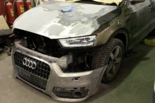 Кузовной и малярный ремонт Audi Q3