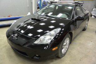 Кузовной ремонт и окраска Toyota Celica