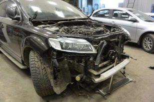 Кузовной и малярный ремонт автомобиля Audi Q7