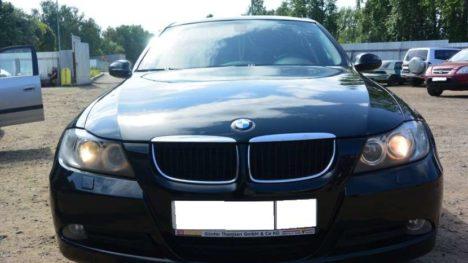 Ремонт кузова и покраска автомобиля BMW 3 серии