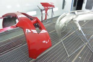 Ремонт  и окраска бампера Honda Accord