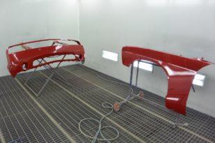 Ремонт бампера и покраска Ford Mustang