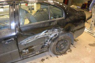 Кузовной ремонт и окраска Skoda Octavia