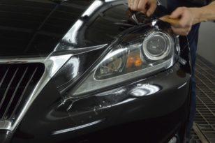 Бронирование фар Lexus IS250