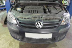 Полировка фар Volkswagen Golf Plus