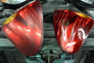 Полировка фар Mitsubishi L200